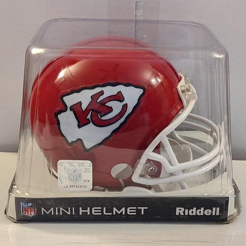 2013 Kansas City Chiefs Riddell Mini Helmet
