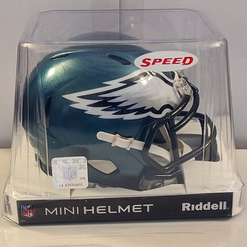 2019 Philadelphia Eagles Riddell Mini Helmet