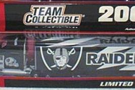 2001 Oakland Raiders Tractor Trailer