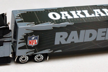 2009 Oakland Raiders Tractor Trailer