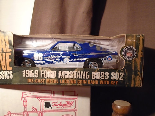 1998 Dallas Cowboys ERTL Ford Mustang Boss 302
