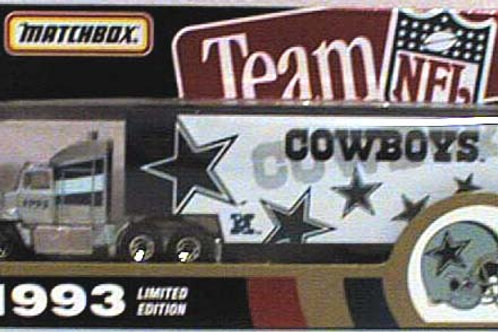 1993 Dallas Cowboys Tractor Trailer