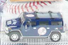 2004 New York Yankees Hummer H2 w/ Alex Rodriguez Card