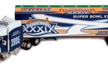 2005 Super Bowl XXXIX (39) Tractor Trailer