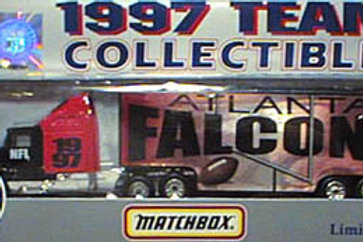 1997 Atlanta Falcons Tractor Trailer