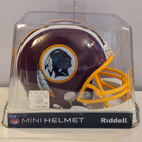 2013 Washington Redskins Riddell Mini Helmet