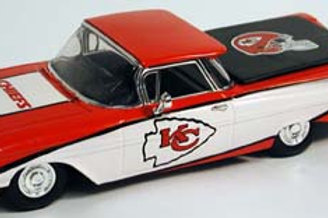 2005 Kansas City Chiefs 1959 Chevrolet El Camino