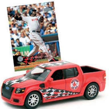 2007 Boston Red Sox Ford SVT Adrenaline w/ David Ortiz Card