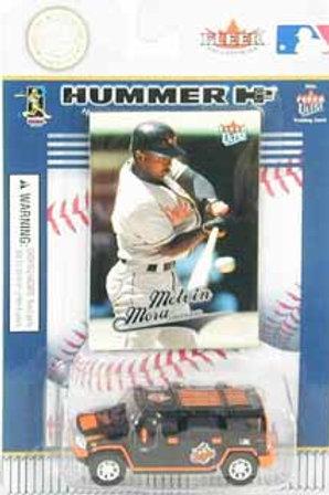 2004 Baltimore Orioles Hummer H2 w/ Melvin Mora Card