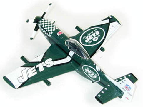 2003 New York Jets P-51 Airplane