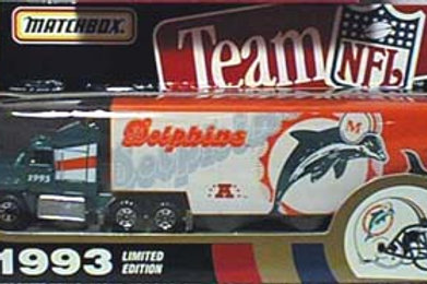 1993 Miami Dolphins Tractor Trailer