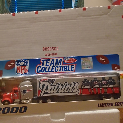 2000 New England Patriots Tractor Trailer