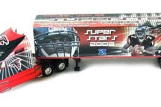 "2003 Atlanta Falcons ""Super Stars"" Michael Vick Tractor Trailer"
