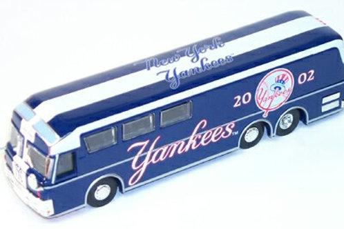 2002 New York Yankees Bus