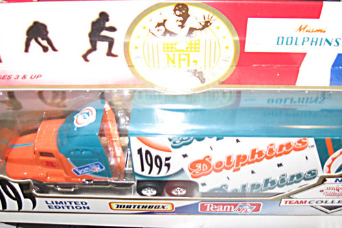 1995 Miami Dolphins Tractor Trailer
