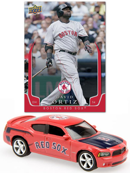 2008 Boston Red Sox Dodge Charger w/ David Ortiz Card