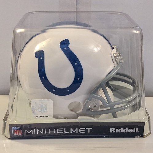 2012 Indianapolis Colts Riddell Mini Helmet