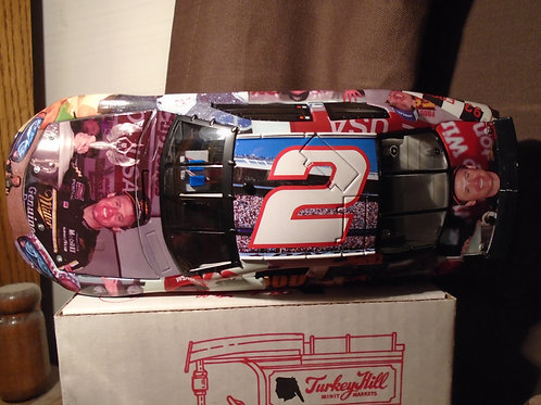 """2005 Rusty Wallace #2 Dodge Charger """"Milesstones"""" 9X Bristol Wins"""