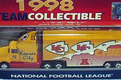 1998 Kansas City Chiefs Tractor Trailer