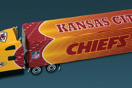 2010 Kansas City Chiefs Tractor Trailer