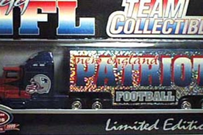 1999 New England Patriots Tractor Trailer