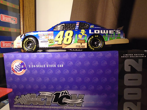 2002 Jimmie Johnson Chevrolet Monte Carlo Lowe's Looney Tunes Rematch