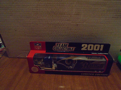 2001 St. Louis Rams Tractor Trailer