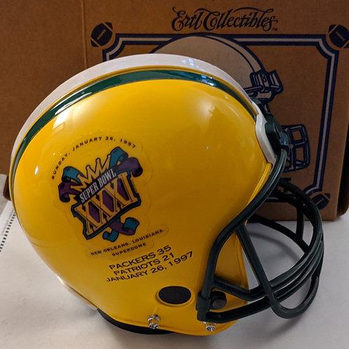 1997 Green Bay Packers Super Bowl ERTL Mini Helmet Bank