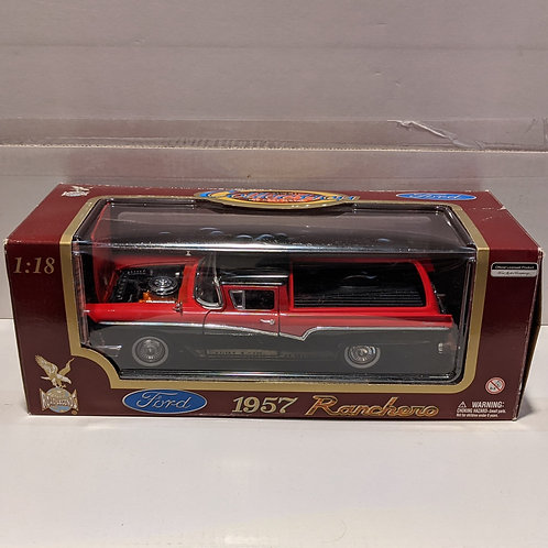 1957 Ford Ranchero (red & black)