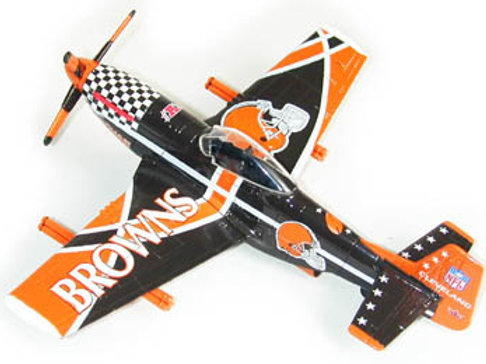 2003 Cleveland Browns P-51 Airplane