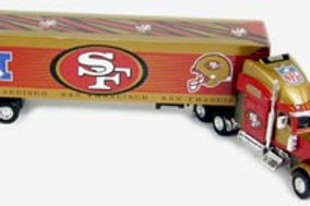 2004 San Francisco 49ers Tractor Trailer