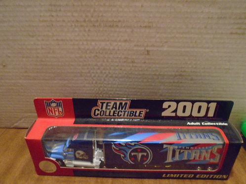2001 Tennessee Titans Tractor Trailer
