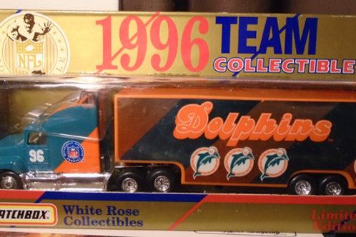 1996 Miami Dolphins Tractor Trailer