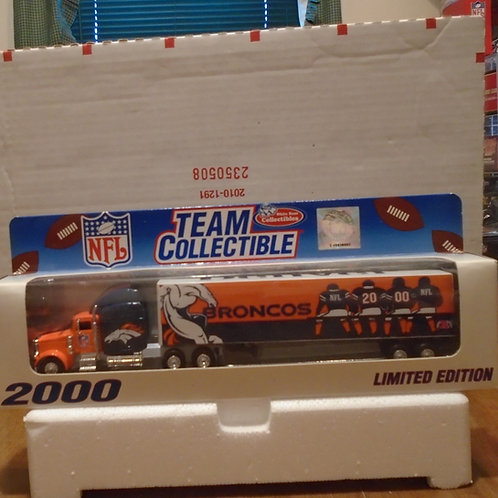 2000 Denver Broncos Tractor Trailer
