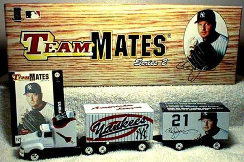 1999 New York Yankees Roger Clemens Tractor Trailer