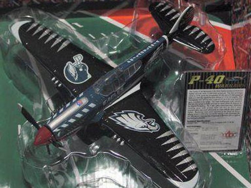 2004 Philadelphia Eagles P-40 Warhawk Airplane
