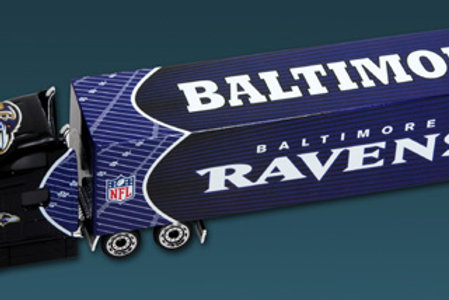 2010 Baltimore Ravens Tractor Trailer