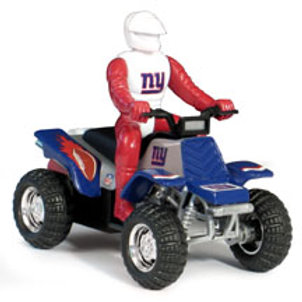 2005 New York Giants ATV w/Rider