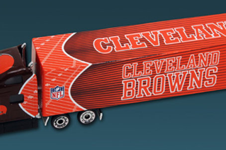2010 Cleveland Browns Tractor Trailer