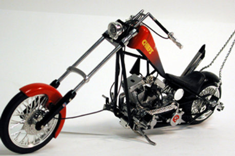 2005 Kansas City Chiefs ERTL OCC Custom Bike