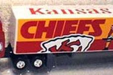 2000 Kansas City Chiefs Tractor Trailer