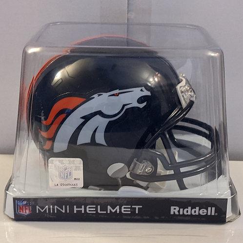 2012 Denver Broncos Riddell Mini Helmet