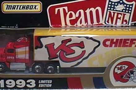 1993 Kansas City Chiefs Tractor Trailer
