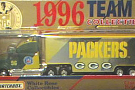 1996 Green Bay Packers Tractor Trailer