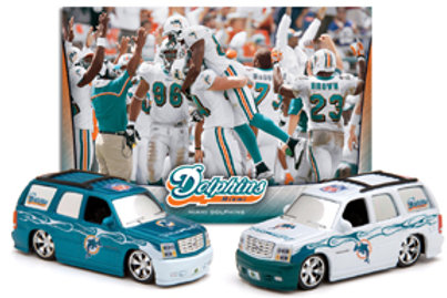 2006 Miami Dolphins Home & Road Colors Escalade 2 Pack