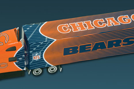 2010 Chicago Bears Tractor Trailer