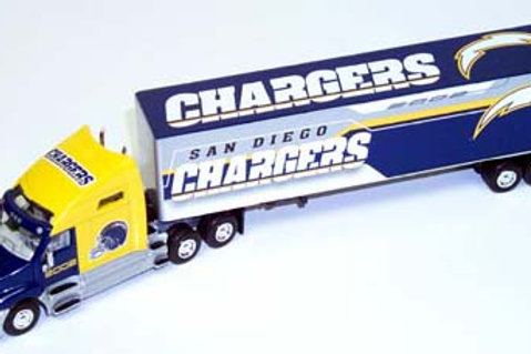 2002 San Diego Chargers Tractor Trailer