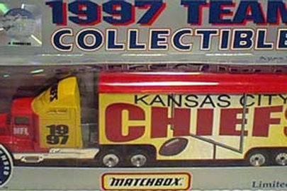 1997 Kansas City Chiefs Tractor Trailer