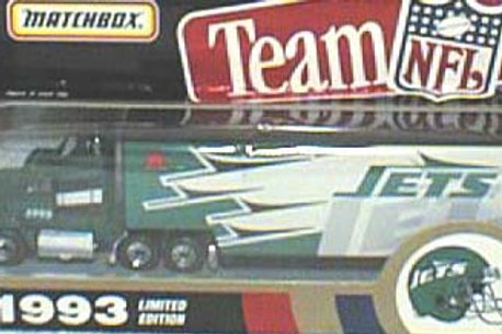 1993 New York Jets Tractor Trailer