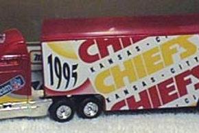 1995 Kansas City Chiefs Tractor Trailer